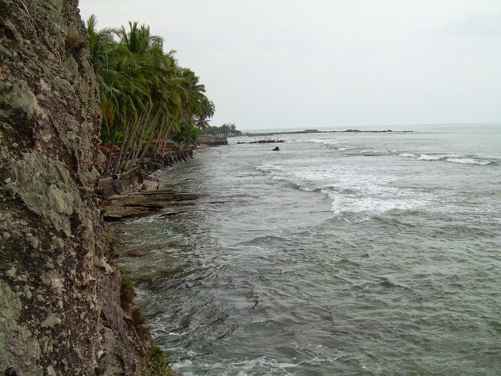 Wisata Pantai Anyer Kabupaten Serang Jelajah Alam Menghadap Arah Barat