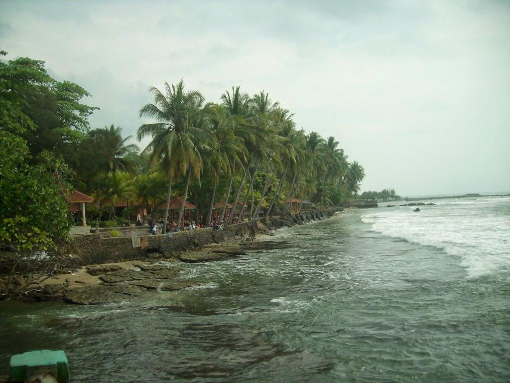 Wisata Pantai Anyer Kabupaten Serang Jelajah Alam Salah Satu Provinsi