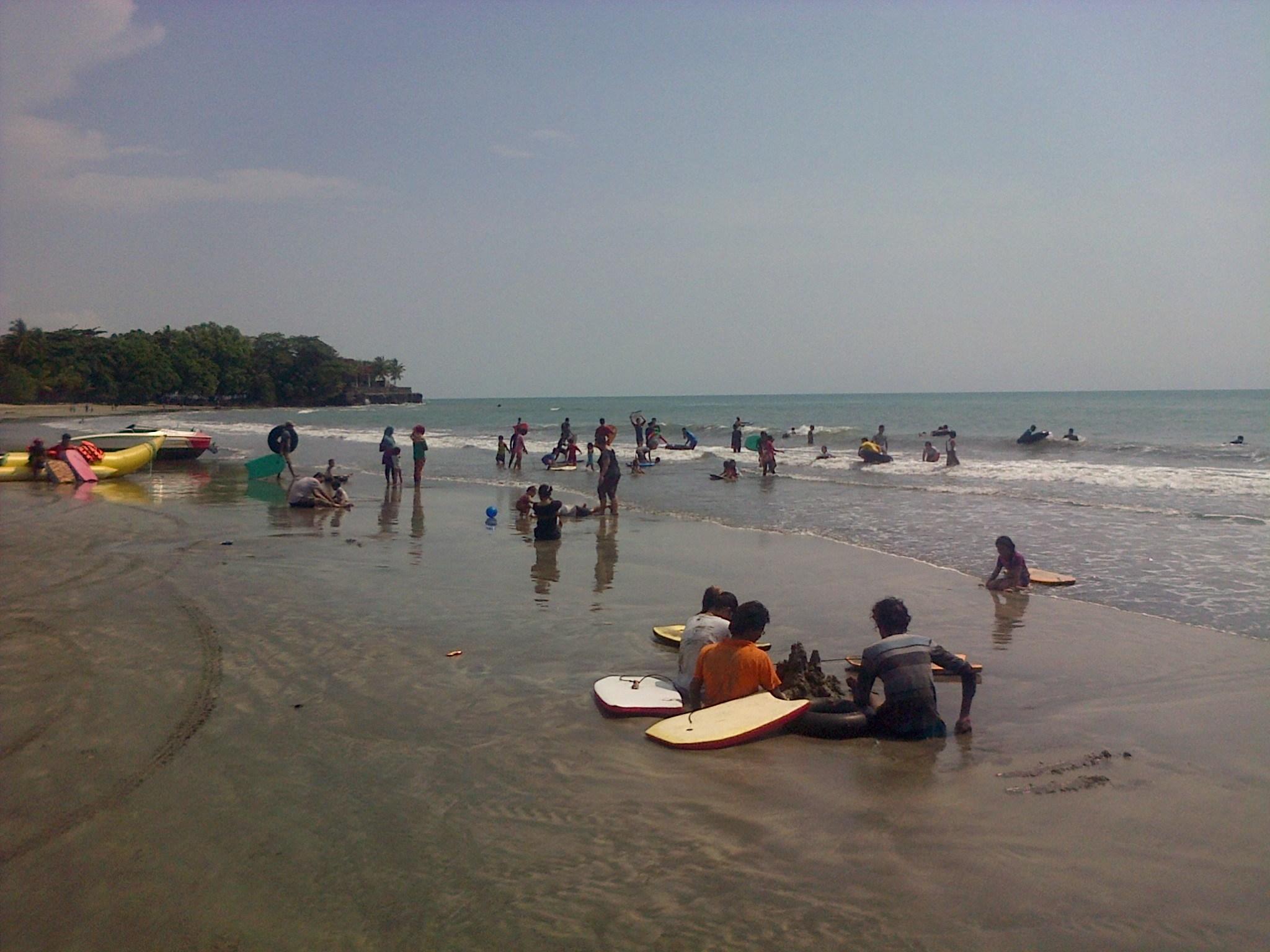 Wisatawan Pantai Meningkat Pengelola Sebut Sepi Ya Pengunjung Sambolo 2