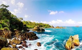 22 Tempat Wisata Banten Populer Harga Tiket Masuk Pantai Sawarnatempat