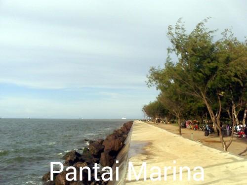 7 Pantai Terbaik Terindah Anyer Rental Mobil Banyuwangi Foto Marina