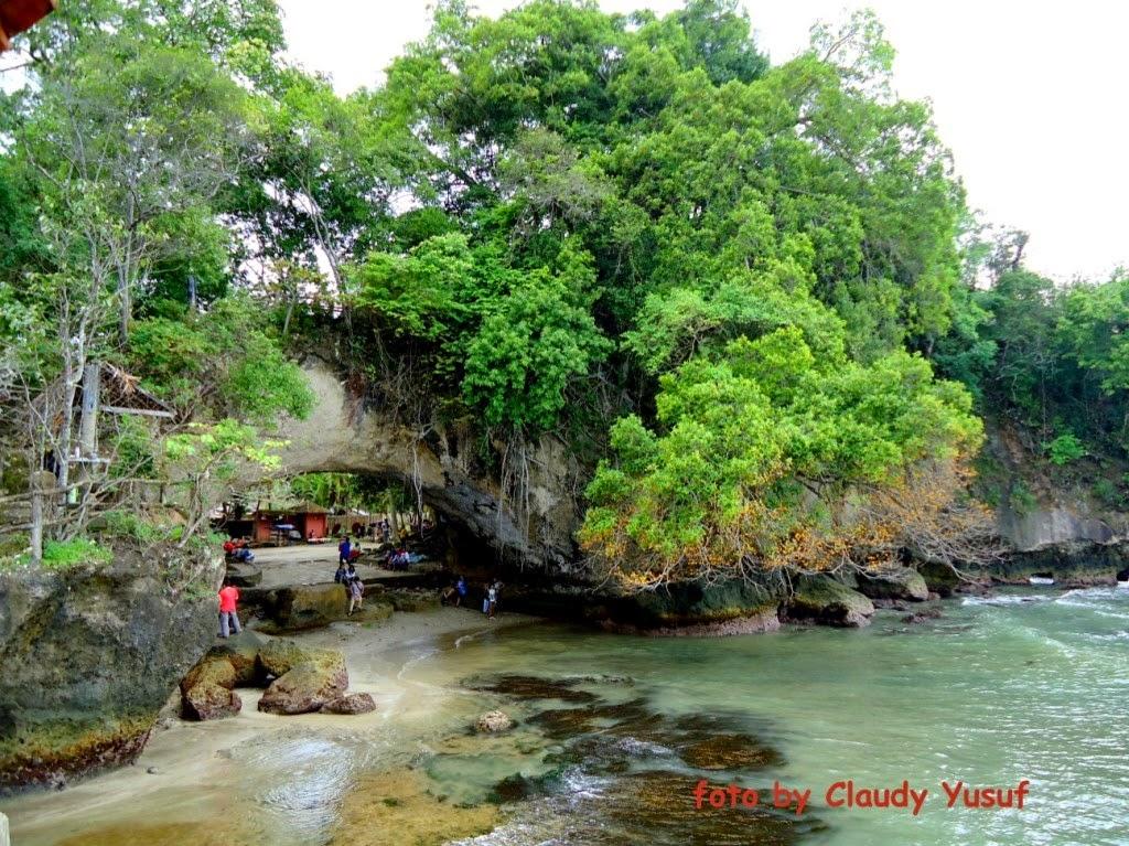 Farlafearless Backpack Visit Serang Banten Indonesia Pantai Cibeureum Kab