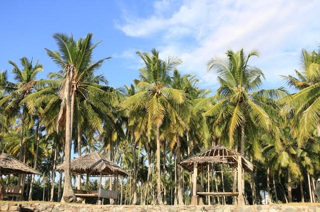 Menikmati Pantai Anyer Serang Banten Cibeureum Kab