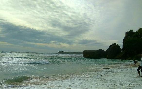 Menikmati Pantai Anyer Serang Banten Indrayanti Jogja Rute Harga Tiket
