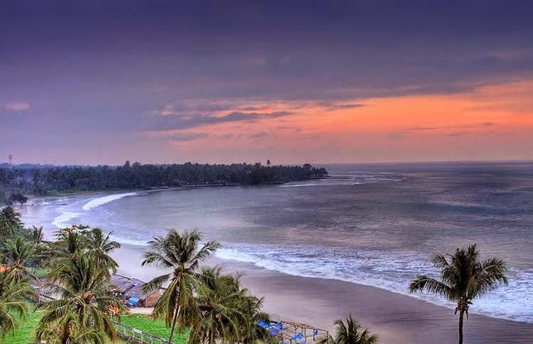 Tempat Wisata Pantai Anyer Terkenal Indah Info Budaya Cibeureum Kab