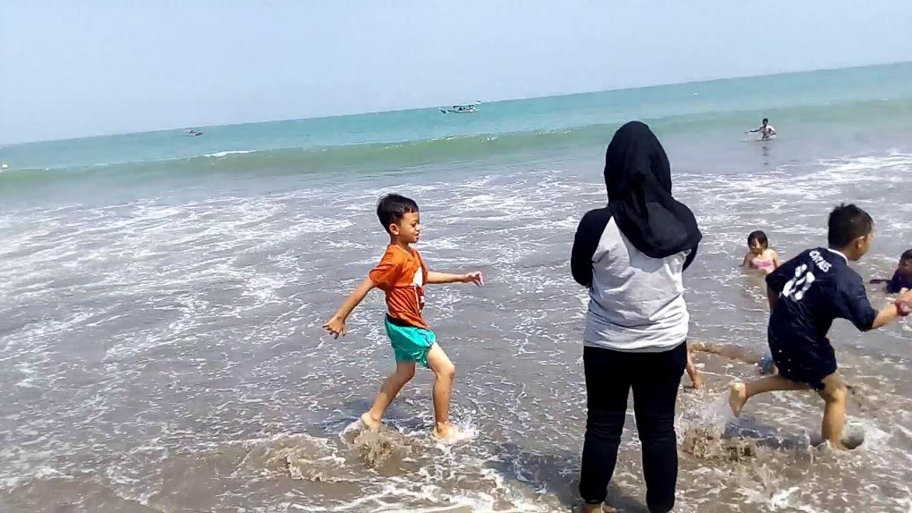 Excotiknya Pantai Bandulu Anyer Serang Banten Youtube Jambu Kab