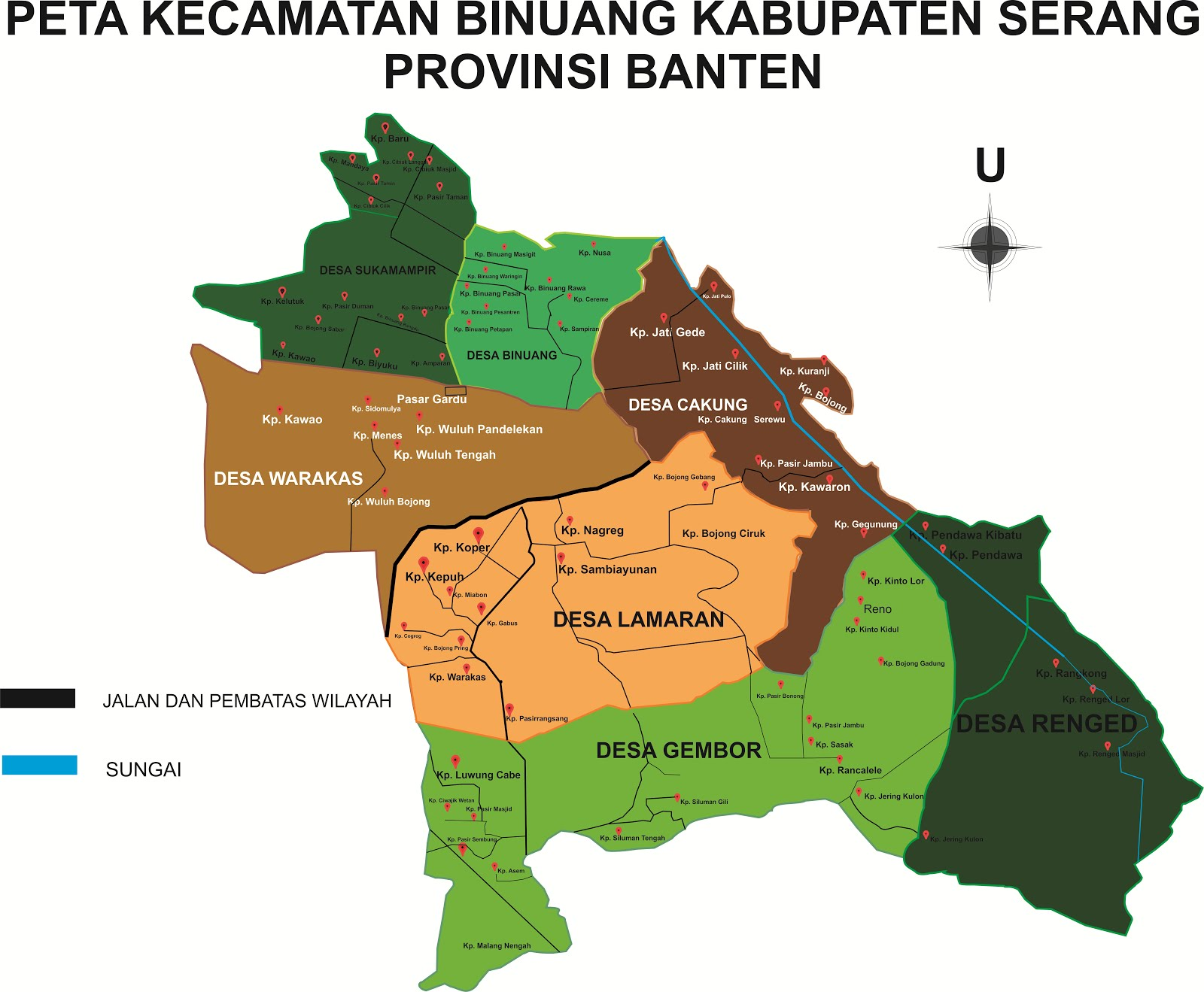 Nama Kampung Kecamatan Binuang Kabupaten Serang Provinsi Berbagi Informasi Seputar