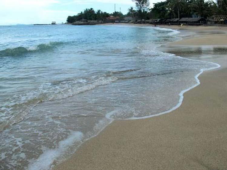 Pantai Jambu Alami Tersembunyi Anyer Banten Kab Serang