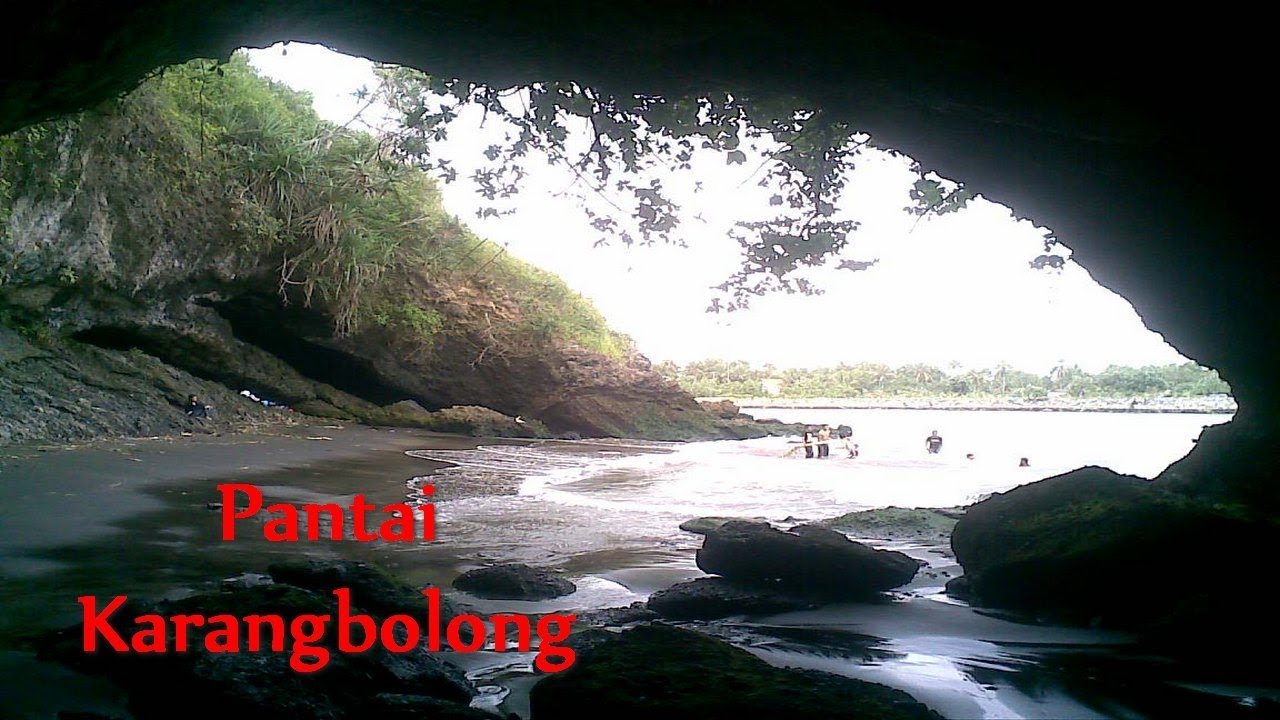 Pantai Karangbolong Kebumen Bag 2 Youtube Karang Bolong Kab Serang