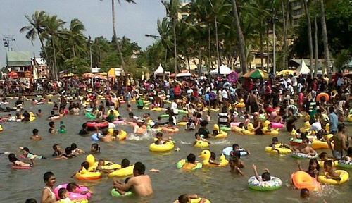 Banten Paket Wisata Pulau Tidung 2015 Pantai Marina Kab Serang