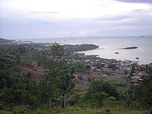 Banten Wikipedia View Cilegon Pantai Marina Kab Serang