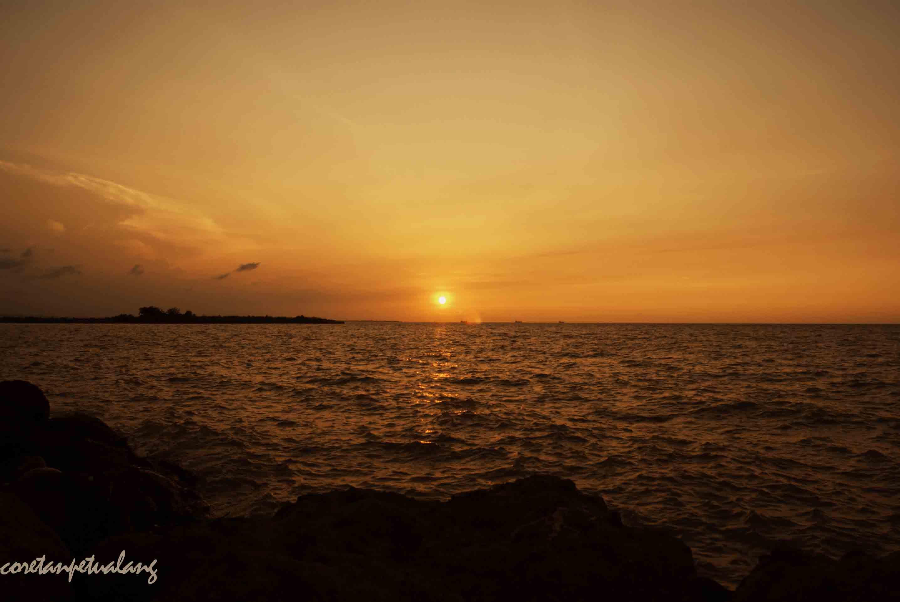 Biro Wisata Fortekindo Tour Pantai Marina Semarang Sebenarnya Hasil Reklamiasi