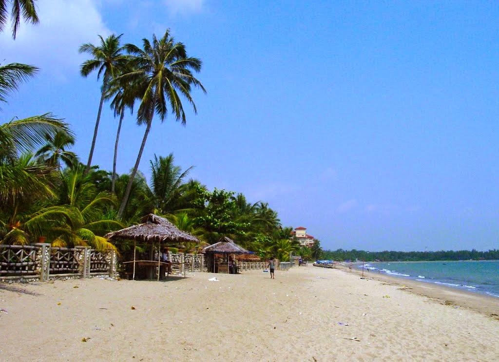 Destinasi Panorama Pantai Ayer Carita Banten Info Lengkap Marina Kab