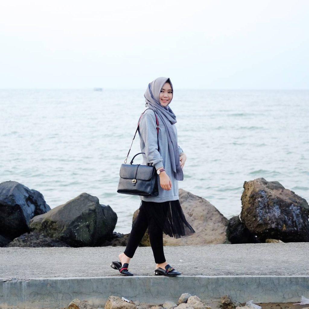 Liburan Super Anyer Mencoba Keseruan Wisata Pantai Marina Kab Serang