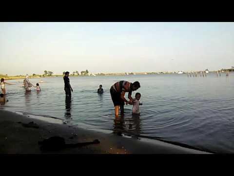Pantai Marina Semarang Jawa Tengah Indonesia Youtube Kab Serang