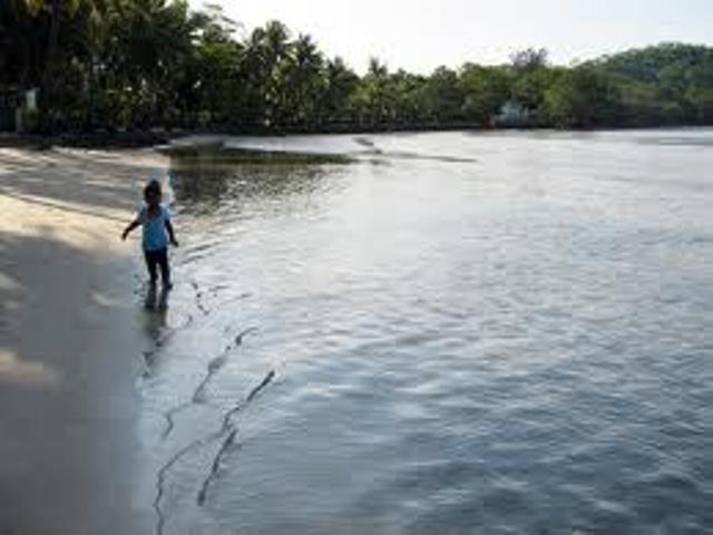 Pantai Salira Terletak Daerah Pulo Ampel Bojonegara Kabupaten Serang Provinsi