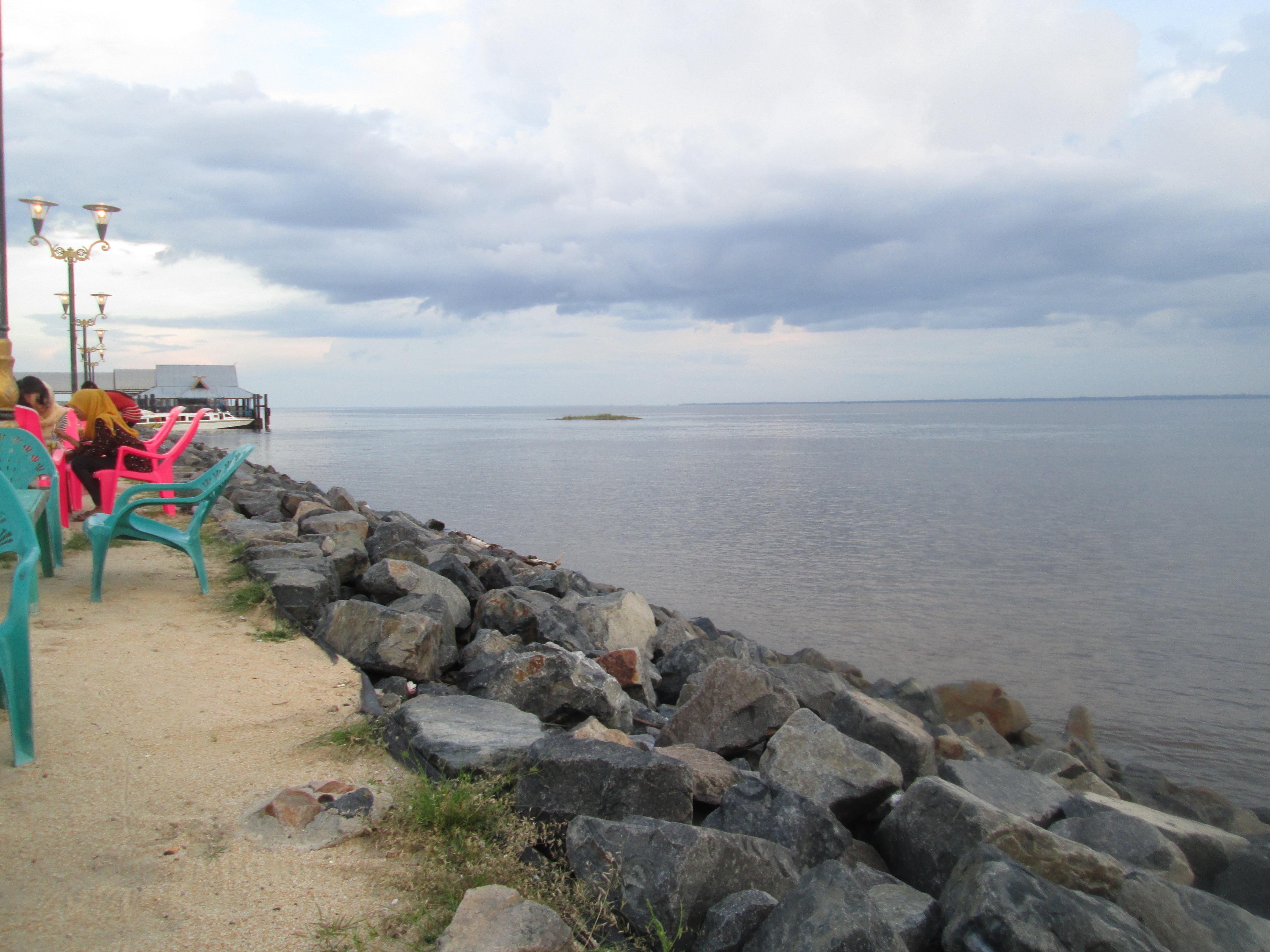 Ulasan Kabupaten Bengkalis Travelover Travelogue Pantai Img 0733 Marina Kab