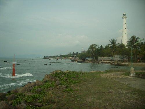 Wikigogo Mercusuar Cikoneng Museum Serang Lighthouse View Marina Pantai Kab