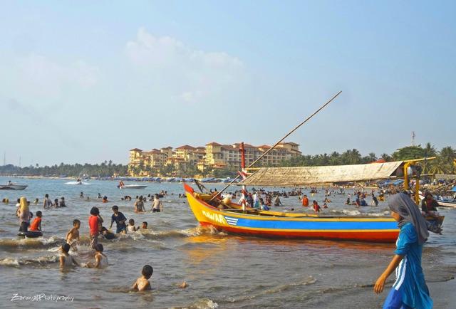 20 Foto Pantai Anyer Banten Sambolo Pasir Putih Jambu Beach