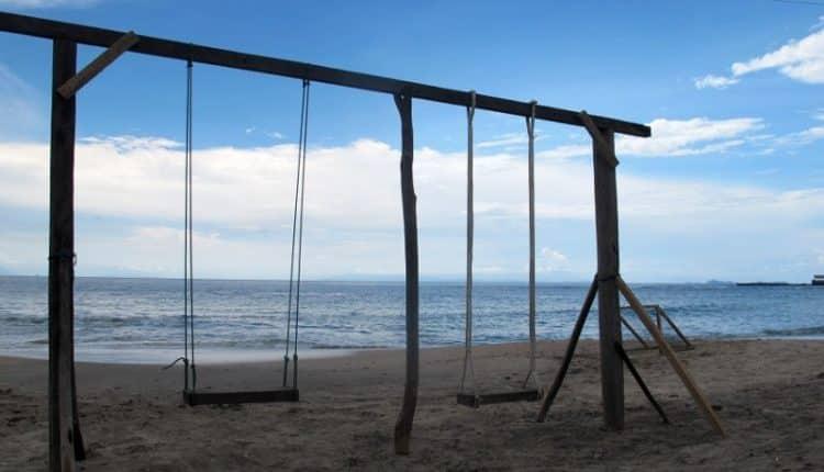 6 Pantai Kawasan Banten Eksotis Jambu Pantaianyer Pasir Putih Florida