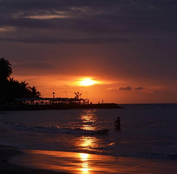 Alamat Harga Tiket Pantai Pasir Putih Anyer Florida Kab Serang
