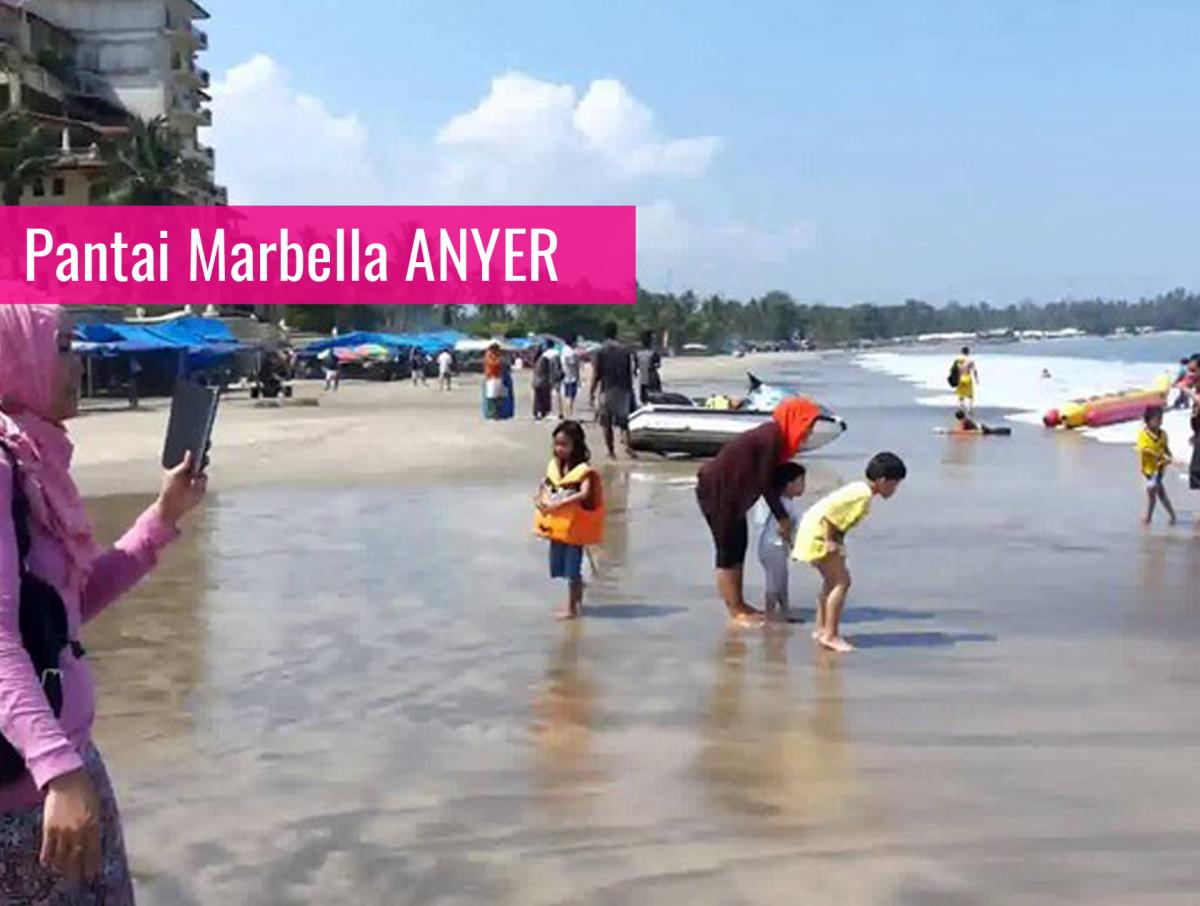 Catatan Perjalanan Pantai Marbella Anyer Apartemen Pasir Putih Florida Kab