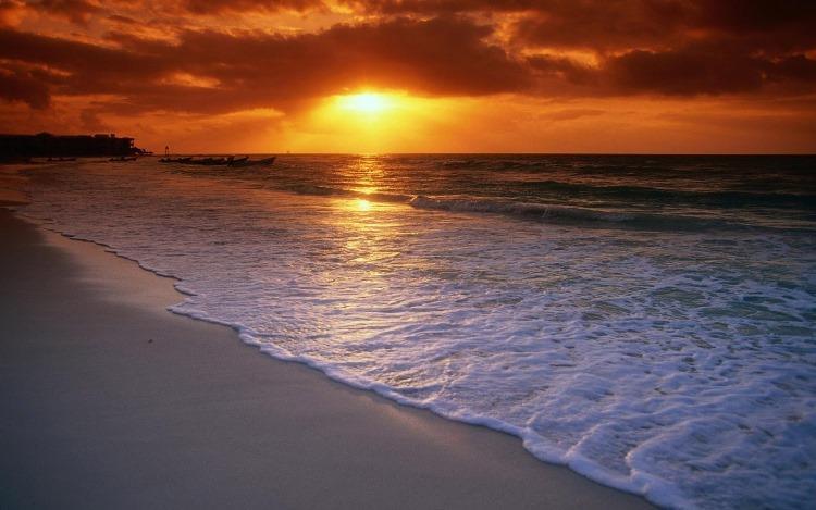 Pantai Anyer Keindahan Sunset Terbaik Banten Pasir Putih Florida Kab