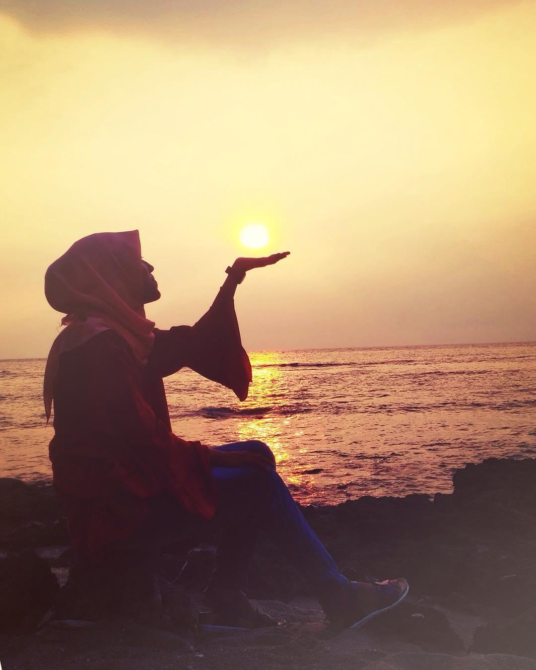 Pantai Florida Keindahan Sunset Terbaik Anyer Serang Pasir Putih Kab