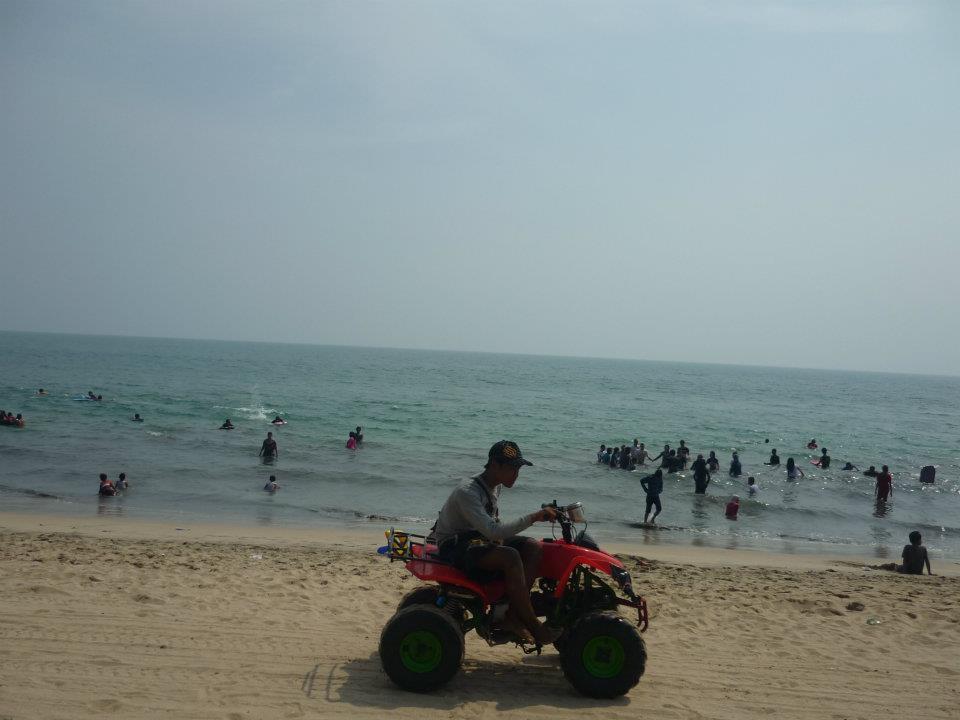 Pantai Pasir Putih Anyer Backpacker Koprol Florida Kab Serang