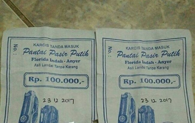 Soal Tiket Masuk Wisata Anyer Mahal Kadisporapar Kabupaten Serang Angkat