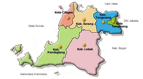 Kode Pos Kabupaten Serang Daftar Lengkap Berada Ujung Barat Laut