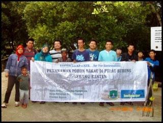 Mengintip Penanaman Mangrove Pulau Dua Serang Plh Indonesia Proses Rangkaian