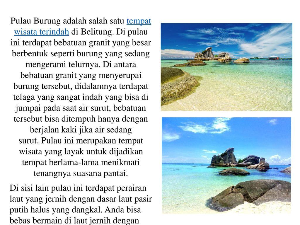 Objek Wisata Pulau Belitung Negeri Laskar Pelangi Ppt Download 12