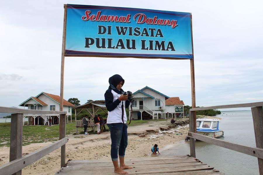 Pesona Pulau Lima Serang Banten Fesbukbantennews Gerbang Foto Imam Burung