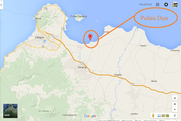 Pulau Dua Surga Ribuan Burung Migran Banten Merahputih Secara Administratif