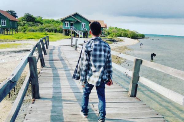 Wisata Pulau 5 Lima Banten Bantenwisata Burung Kab Serang