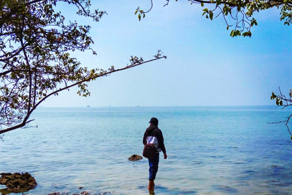 Wisata Pulau 5 Lima Banten Bantenwisata Setelah Tiba Pelabuhan Karangantu