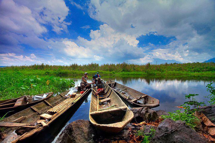 Wisata Rawa Danau Banten Bantenwisata Pulau Burung Kab Serang