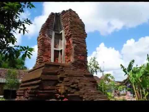 Cagar Budaya Indonesia Candi Pari Sidoarjo Jawa Timur Youtube Kab