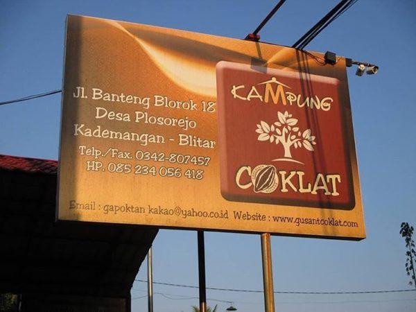 Wisata Edukasi Kampung Coklat Blitar Jawa Timur Bisa Jadi Tempat