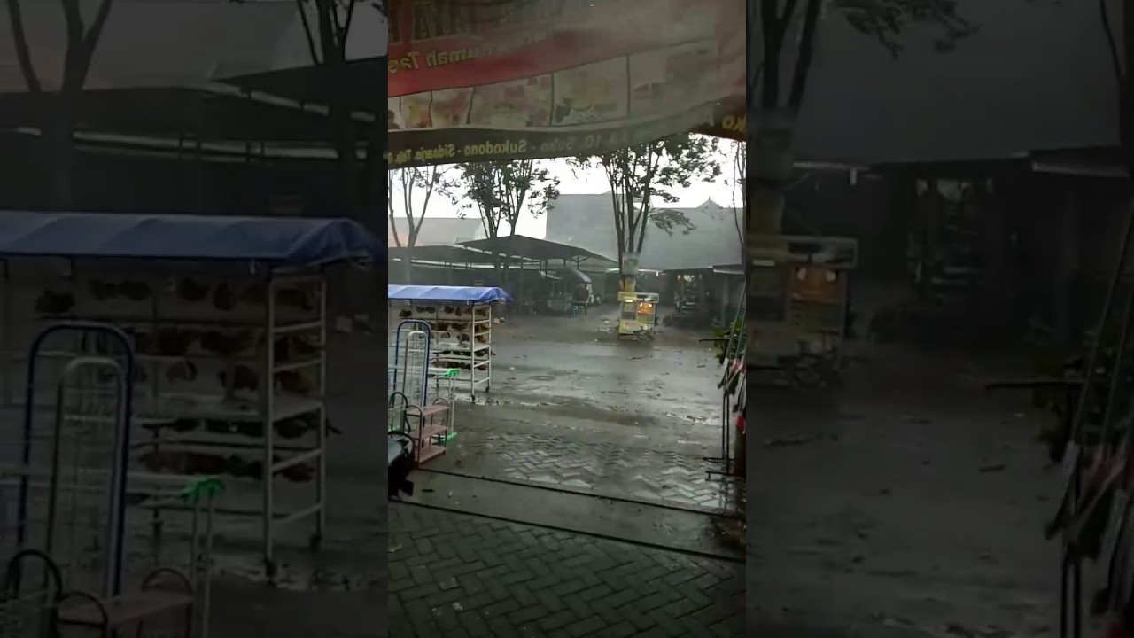 Angin Kecang Hujan Es Suko Legok Sidoarjo Youtube Asri Sukolegok