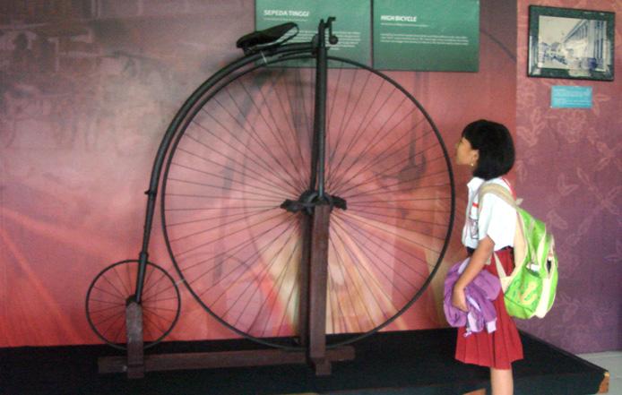 Bertemu Sepeda Tinggi Museum Mpu Tantular Musium Kab Sidoarjo