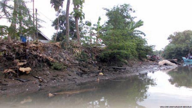 Meski Dianggap Sebagai Jalur Wisata Pantai Timur Kabupaten Sidoarjo Kondisi