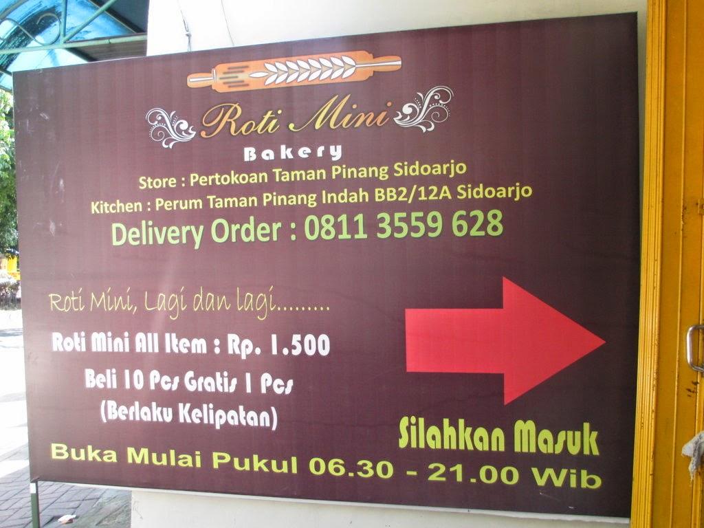 Nyari Kafe Yukk Roti Mini Bakery Pasar Malam Gading Fajar