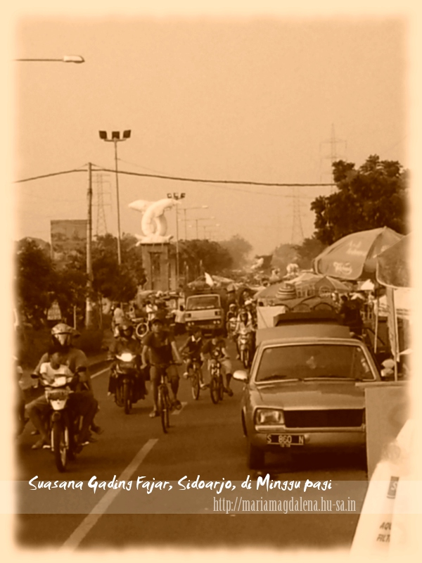 Pasar Gading Fajar Icon Ekonomi Sidoarjo Maria Magdalena Living Siapa