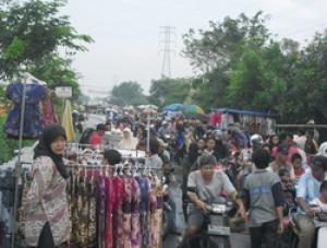 Pasar Gading Fajar Wisata Sidoarjo Malam Kab