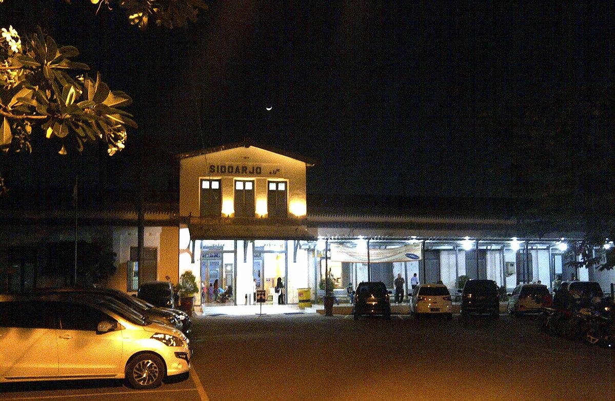 Stasiun Sidoarjo Wikipedia Bahasa Indonesia Ensiklopedia Bebas Pasar Malam Gading