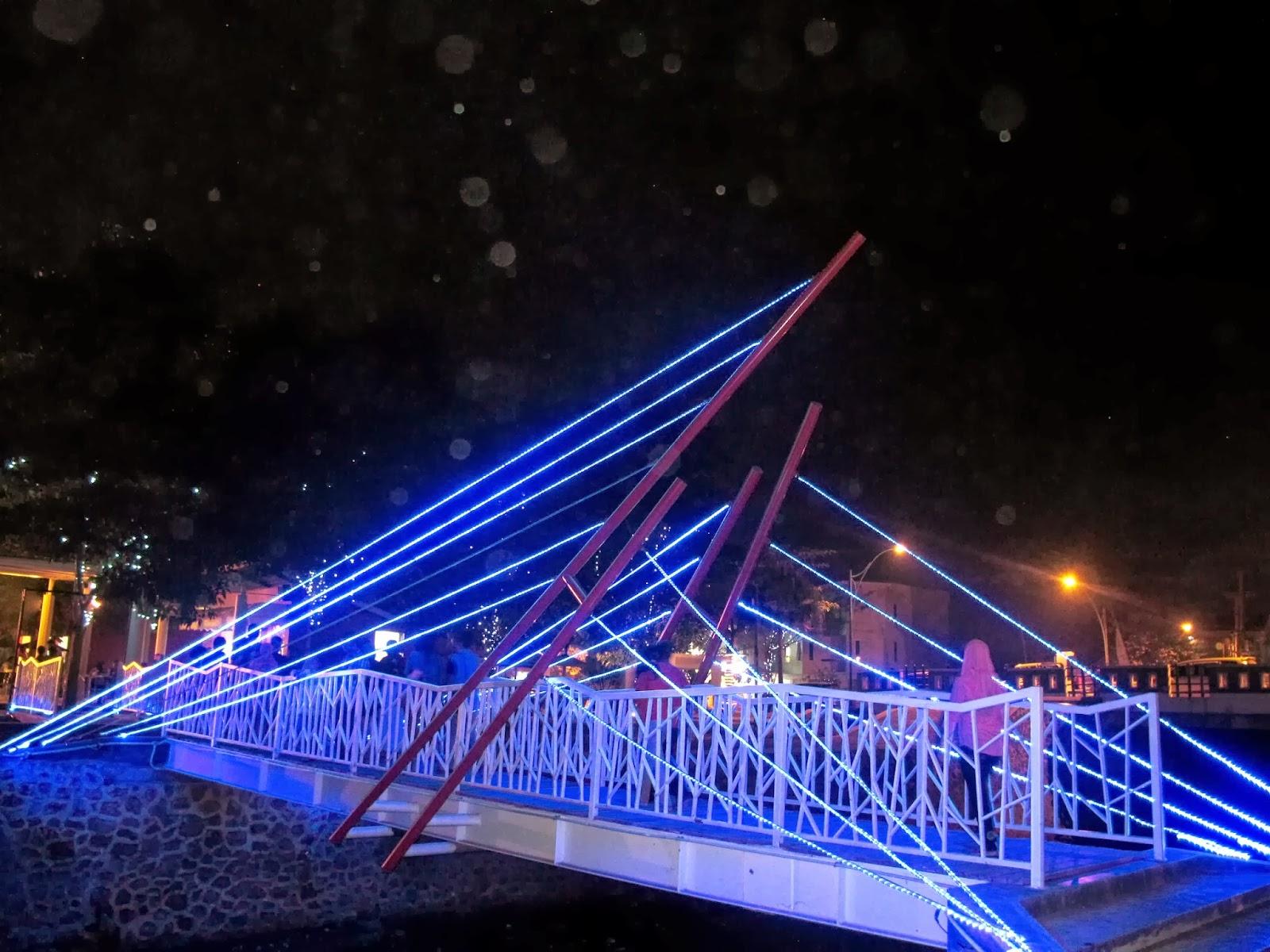 Pazkul Tempat Nongkrong Asyik Sidoarjo Haya Zone Jembatan Biru Kahuripan
