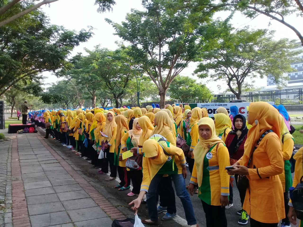 Sosialisasi Gerak Lagu Gernas Baku Himpaudi Kabupaten Sidoarjo Oleh Dinas