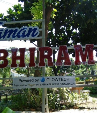 13 Tempat Wisata Sidoaro Mantap Terindah Taman Abhirama Kab Sidoarjo